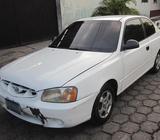 Vendo Hyundai accent año 2002 standar, 2 puertas, buen estado, $3300 neg