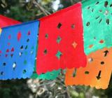 Cortinas de Papel Picado