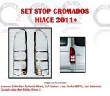 SET STOP CROMADOS HIACE 11 A MAS