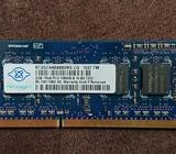 1 DIMM de 2GB de memoria RAM para laptop marca Nanya