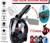 Vendo mascara snorkel full face 180 degrees talla S/M