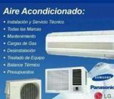 Instalacion de Aire Acondicionado Mantto