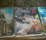 Vendo Libros Usaditos de 8 Pioneros