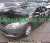 Repuestos para Nissan Sentra 2017