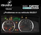 Diagnóstico Electrónico de Vehiculos Pesados marca ISUZU NPR, NQR, NRR y serie 'F'