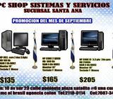 PROMOCIONES EN PC DESDE 125.00