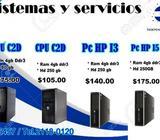 PROMOCION DE CPU DESDE 55.00