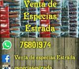 Venta de Especias Estrada