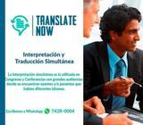 Traductor certificado para toda clase de traducciones