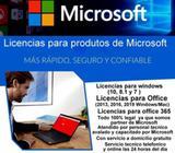 Licencias para productos Microsoft