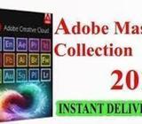 Adobe cc master collection . Paquete de software con licencia. Instalación a domicilio