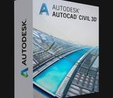 Licencias de AutoCAD Civil 3D 2020. Instalación a domicilio