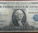 1935, Billete Sello Azul de 1 Dólar