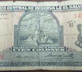 Billetes de 100 Colones, Moneda Nacional