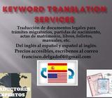 Servicios Profesionales de Traducción