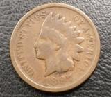 2 Centavos Del Indio 1897 Y 1898