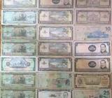 21 Billetes de Nuestra Moneda Nacional