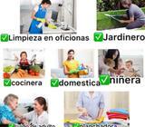 Agencia Ofrece Domestica con Experiencia