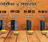 PRECIOS DE CPU DE DIFERENTES MARCAS Y MODELOS DESDE 55.00