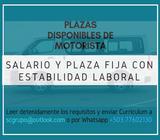 MOTORISTAS TRANSPORTE DE PERSONAL