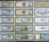 Lote de Billetes de El Salvador, Colones