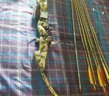 Arco Y Flechas de Fibra de Bridrio Alumi