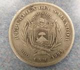 Bamba de 1894, Un Peso de El Salvador