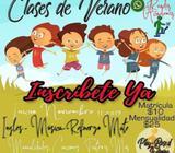 Clases de Verano Opico. Ready Academy