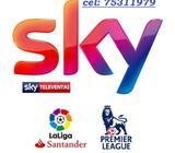 Cable satelital sky 25.90