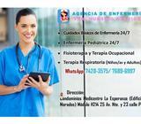 enfermera domiciliar y otros servicios