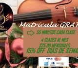 Cursos de Violin en San Salvador