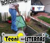 Residenciales o empresas servicio de limpieza de cisternas todo tamaño