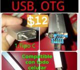 Memorias Usb Otg de 32 Gb 3 en 1