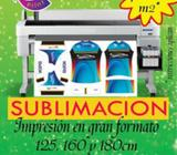 IMPRESION DE SUBLIMACION GRAN FORMATO