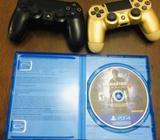 Vendo 2 Controles y Uncharted 4