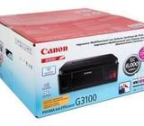 IMPRESOR CANON MULTIFUNCIONAL G3100 WIFI CON SISTEMA DE TINTA CONTINUO PROMOCION!!