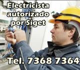 Electricista Autorizado X S.i.g.e.t