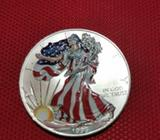 1 Dólar Liberty Plata