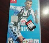 Vendo Fifa 19 para Nintendo Switch