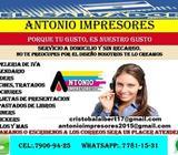 Imprenta Antonio
