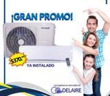 Oferta Aire Acondicionado El Salvador, Aire Acondicionado nuevo instalación