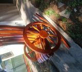 Silla de madera descanzadora