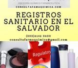 Registros Sanitario de cosméticos e Higiénicos en El Salvador