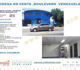 Bodega en venta, boulevard Venezuela.