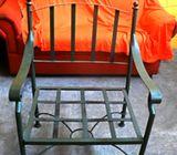Muebles en hierro forjado