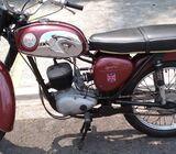 BSA inglesa, clásica, 175cc